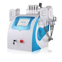 Buy cheap Fat Cells Killing Equipment Cryotherapy Slimming Cryolipolysis Machine Portable Double Cryo Probes With Laser Lipo product
