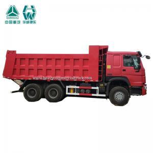 Buy cheap 371 hp 10 wheels 6 X 6 HOWO off road dump truck SINOTRUK from wholesalers