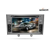 Buy cheap PEUGEOT 408 DOUBLE DIN CAR DVD WITH GPS WITH A8 CHIPSET DUAL CORE 1080P V-20 DISC WIFI from wholesalers