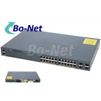 Buy cheap WS C2960X 24TS L Cisco Soho Gigabit Switch , Cisco 2960x 24 Port Switch 80G product