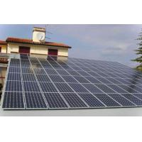 Buy cheap High strength carbon steel roof fixed Solar Panel Mounting System Easy to install product