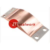 Buy cheap CE Flexible Copper Shunts , Copper Foil Connector For Electrical Connection product
