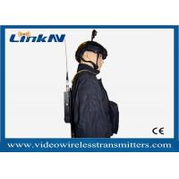 Buy cheap Military Backpack Portable COFDM Transmitter Two Way Voice Intercome 256 - bit AES Encryption from wholesalers