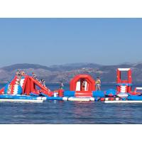 Buy cheap Commercial Inflatable Water Amusement Park Equipment With Digital Printing from wholesalers