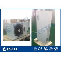 Buy cheap AC 220V Outdoor Cabinet Air Conditioner R134A Refrigerant Embeded / Wall Mounted product