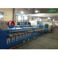 Buy cheap 24Pcs Alloy Wire Annealing / Cable Coiling Machine For Single Wire Dia 0.04 - 0 from wholesalers