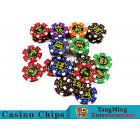Good Printing Non - Faded Casino Royale Poker Chips With Special ABS Material