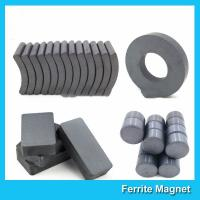 Buy cheap Industrial Sintered Permanent Ceramic Ferrite Magnet Block Ring Disc Arc Shaped product