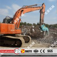 BEIYI BY-HC200 hydraulic pulverizer plier demolition pulverizer concrete factory at 2016 bauma