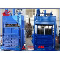 Buy cheap Hydraulic Drive Mode Vertical Baling Machine For Cardboards Plastic PET Bottles product