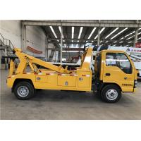 Buy cheap 5 Speed Forward With 1 Reverse 4x2 Drive Tow Truck Wrecker 21m Wire Rope product