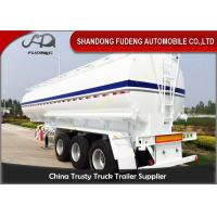 Buy cheap 2 / 3 Axles Fuel Tanker Semi Trailer With 2 - 10 Compartments 30-60CBM product