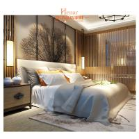 Buy cheap Hardwood + Plywood Hotel Queen Size Furniture in Beds , Bedroom Set , Headboard product