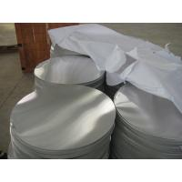 DC material 0.5mm to 3.0mm 1100 1050 H14 Hot Rolled Aluminium Circle with Deep Drawing for sale
