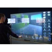 Buy cheap OEM Interactive Touch Foil on glass , transparent rear projection film USB 2.0 Interface product