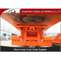 Quality Front Loading lowboy Trailer 80 -100 Tons carry heavy equipment for sale