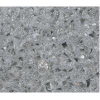 Crystal Shining Light Grey Quartz Kitchen Countertops Quartz Kitchen Island