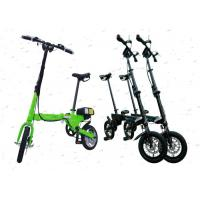 Different Color Aluminum Folding Bike Easy Carry For Commuting / Travel
