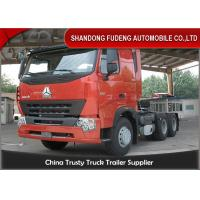 Buy cheap HOWO A7 Tractor Head Trucks 6 X 4 Type 10 Wheelers 420 Horse Power product