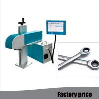 Buy cheap Automatic Raycus Metal Marking Machine Portable Fiber Laser Engraver High from wholesalers