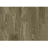 Fashionable Smooth Pvc Flooring Materials Wood Effect Conform To Production Process SGS