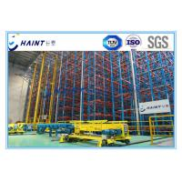 Buy cheap Heavy Duty ASRS Automated Storage Retrieval System, Automated Warehouse Racking Systems product
