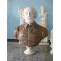 China Marble bust statue for man on sale