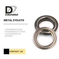 Buy cheap Outdoor Clothing Metal Eyelet Rings Replacement Good Chemical Resistance Large Size product