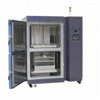 Buy cheap Lab Equipment 2- Zone Touch Screen Temperature Climatic Camera Thermal Shock Test Chamber product