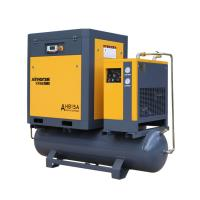 Buy cheap ASME Approved 7.5KW 10HP portable Rotary Screw Air Compressor Prices With 300/500 Liter Tank And Dryer product