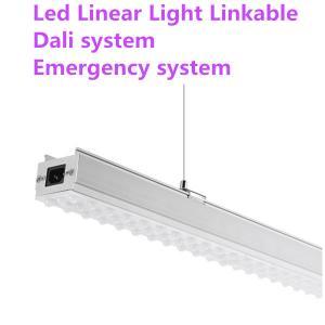 IP 44 Suspended LED Linear Lighting Anti Moisture 50000 Hours Lifespan