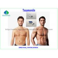 China Tesamorelin 2mg Human Growth Hormone Peptide , Fat Loss Peptides CAS 218949-48-5 on sale