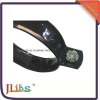 China Plated Black Color 60mm Size Pipe Wall Clamp With Drop Forged Technology on sale