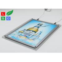 Buy cheap 2mm Clear Acrylic LED Crystal Light Box HS Code 94056000 For Ceiling Hanging product