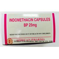 Buy cheap Indomethacin 25 Mg Capsule Finished Medicine , Rheumatoid Arthritis Treatment Pain Killer Medicine product