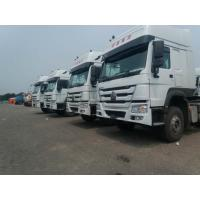 Buy cheap Sinotruck Howo 336 371 420 hp Tractor Head 6X4 6x2 10 Wheel Truck,White color product