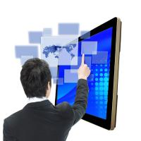 China Uitra Thin Smart All In One PC Touch Screen 32 Inch Wall Mount For Advertisement Player on sale