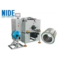 Buy cheap Automatic deep water pump horizontal Stator Paper Insertion Machine for inserting insulation paper product