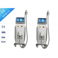 Buy cheap Stationary 1200W Diode Laser Hair Removal Machine 10.4 '' Color Touch LCD Screen product