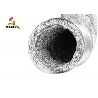 Buy cheap HVAC , bath and general ventilating applications round aluminum foils flexible duct product
