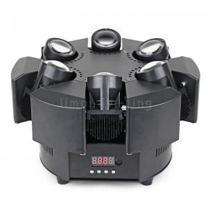 Buy cheap Hot Sale 6 Head Infinite Rotating 6x10w RGBW Mini Smart Beam Moving Head Light product