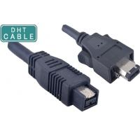 Buy cheap Insulated Firewire Camera Cable 1394A 6 Pin With Latches To 180 Degree 1394B 9pin product