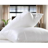 China 90% Duck Goose Feather Pillows Cotton Percale Pillow Insert Customized on sale