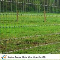 Buy cheap Woven Wire Fence Roll|Called Non-Climb Security Fencing Mesh for Horse Cattle product