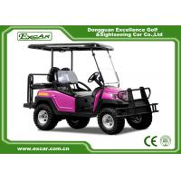 China CE Approved EXCAR 48V 3.7M Electric golf car Battery Powered 4 Seater buggy car on sale