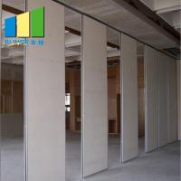 Buy cheap Soundproof Operable Wall Partition With Doors For School / Hotel / Dance Studio from wholesalers
