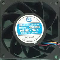 Buy cheap 80 X 38Mm dc cooler axial 24V brushless cooling fan electronic components product