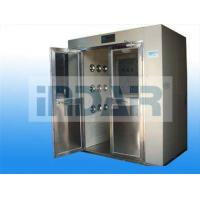 Medical Care Decontamination Air Shower Stainless Steel Floor Minimize Particle Generation