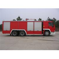 Quality HOWO Chassis Water Tanker Fire Truck With Direct Injection Diesel Engine for sale