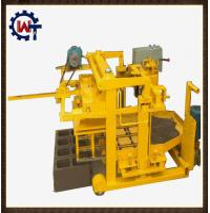 concrete block making machine design pdf